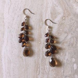 Amber Bead Earrings